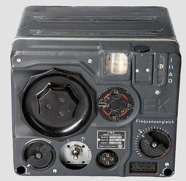 Kurzwellenempfänger der Flugzeugfunkanlage 10 (FuG 10)
