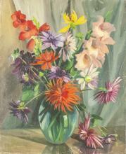 CHARLES KVAPIL (1884-1957) - Flowers