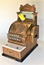 National Candy Store Brass Cash Register
