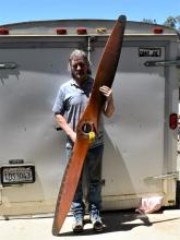 Wooden Airplane Propeller