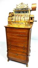 National Brass Cash Register