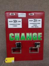 Antique Change Machine