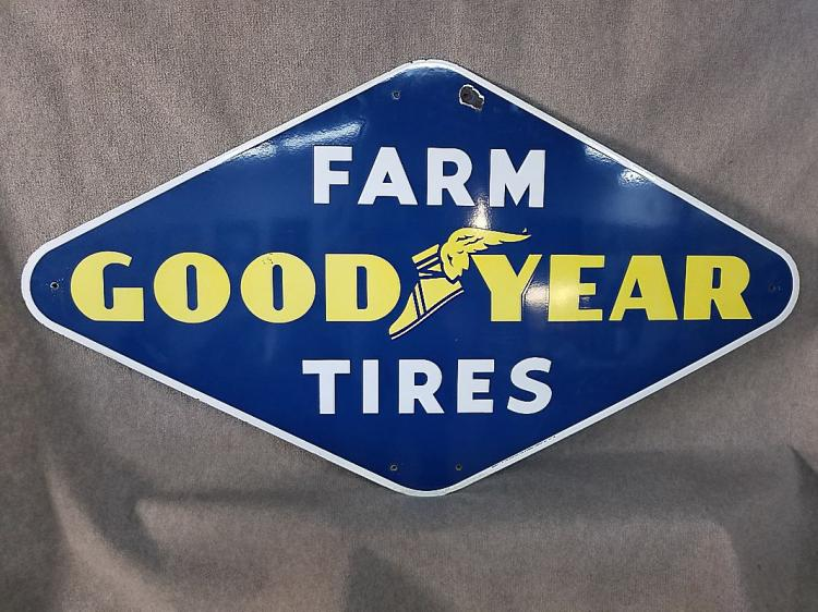 Goodyear Porcelain Sign