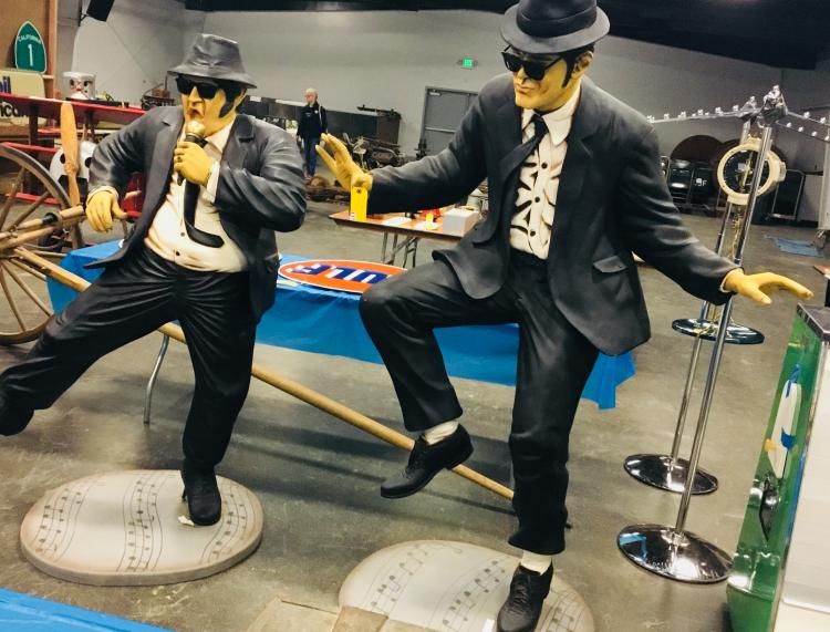 Blues Brothers Life Size
