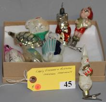 German & Russian Christmas Ornaments