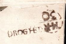 Postal History: 1752 EL to Dublin with small FREE