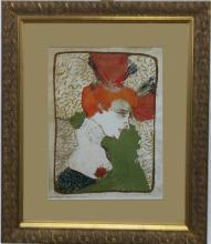 Lithograph After Henri De Toulouse Lautrec