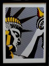 Statue of Liberty After Roy Lichtenstein