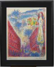 Lithograph After Chagall
