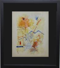 Watercolor Painting After Kandinsky