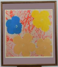 Flowers After Warhol