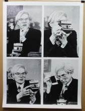 Lithograph of Photographs of Nat Finkelstein