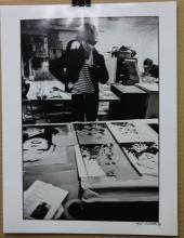 Lithograph of Nat Finkelstein In Photoshop After Nat Finkelstein