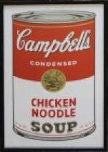 Campbell's Soup After Andy Warhol
