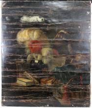 Juriaan van Streek (Dutch, 1632-1687) 17 Century Oil On Canvas Dutch Painting