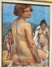Charles Kvapil (Belgian, 1884-1957) - Three Nudes