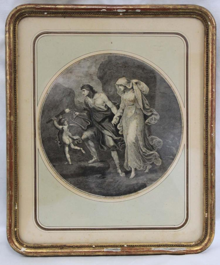 19 CENTURY ENGRAVING L. PREVOTES PARIS