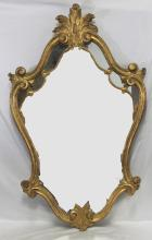 Louis XVI Style Gilt-Wood Mirror
