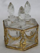 19 Century French Bronze Empire Snuff Bottle (Perfume Bottle)