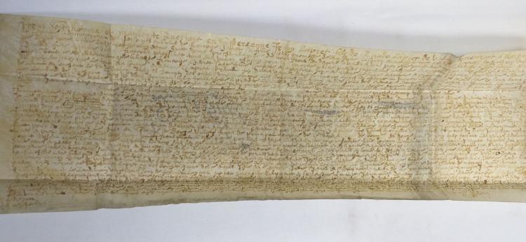 Manuscript Leaf Dated 1656