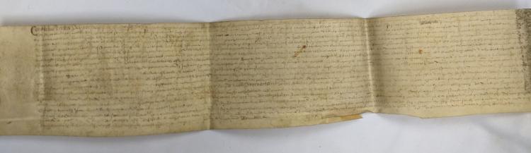 Parchment Manuscript Leaf