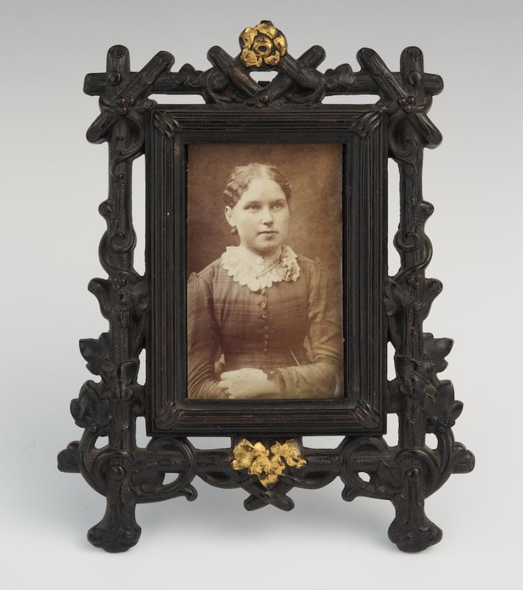 A Gutta Percha Picture Frame, ca. 1880