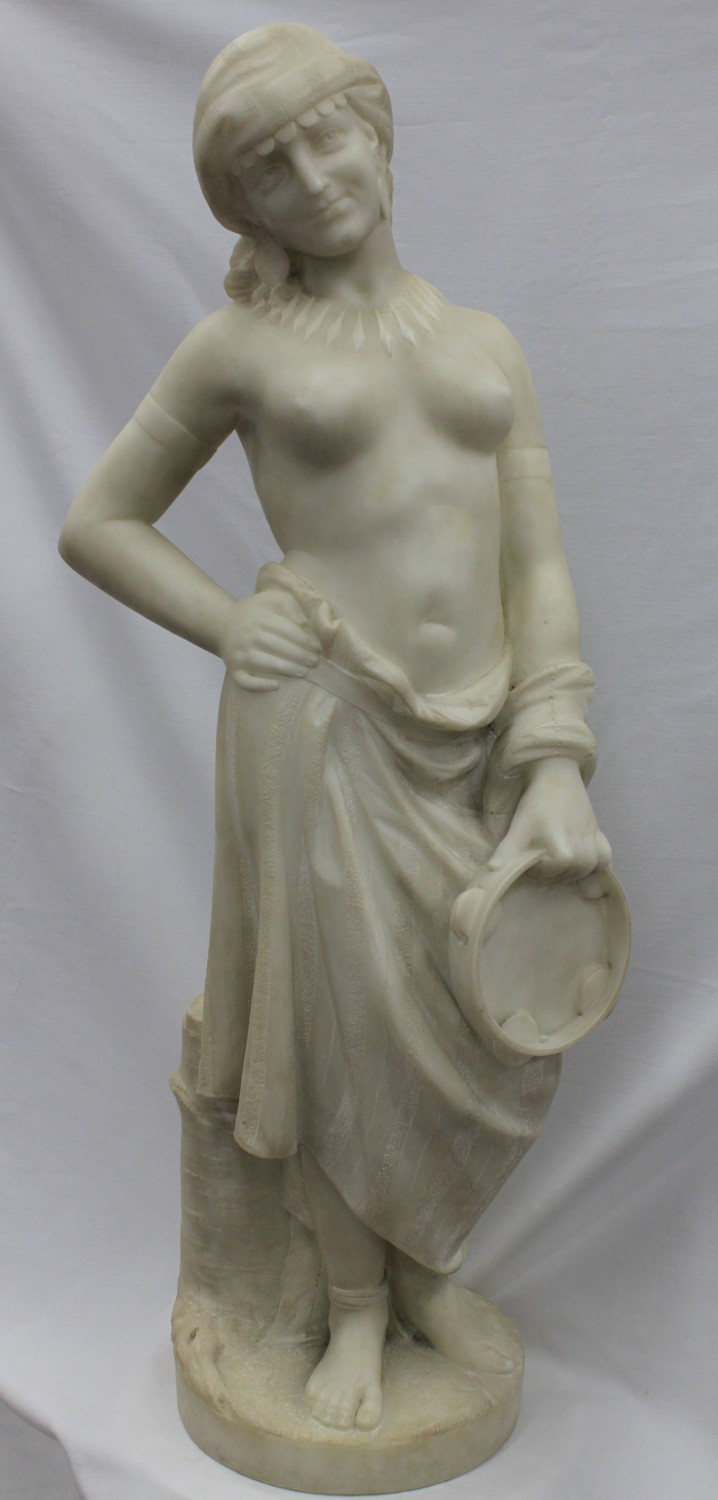 19th Century Italian Marble Sculpture