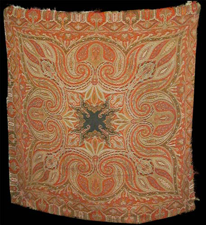 Antique Kashmir Shawl from India