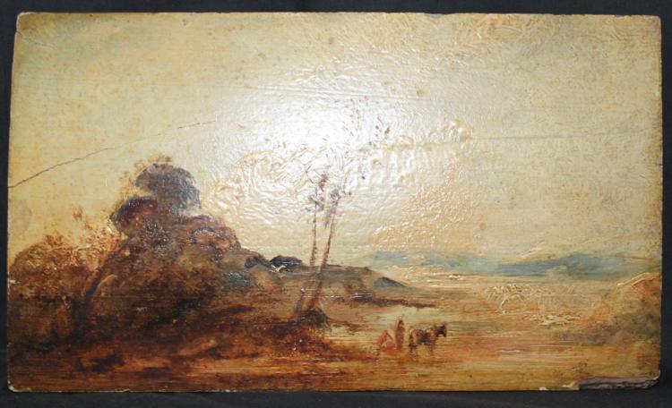 Oil on Panel, Circle of Joseph Mallord William Turner