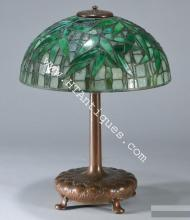 European & American Glass: Tiffany Favrile, Galle, Daum and Tiffany Studios Lamps