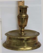 European 2nd quarter 16th century Brass Socket Candlestick