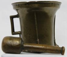 15 Century Bronze German Mortar and Pestle