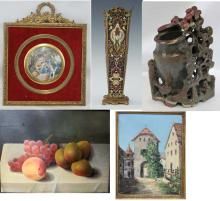 End of Year Sale: Art, Paintings, Prints, Glass, & Decorative Items