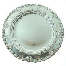 Tiffany & Co. Sterling Silver Plates Set of Ten, Circa 1905