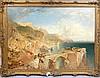 James Baker Pyne, British, 1800-1870, The Bay of Naples, oil on canvas, sig, James Baker Pyne, £2,000