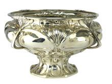 A Spectacular Art Nouveau Sterling Silver bowl / centrepiece