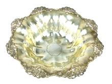Antique American Sterling Silver fruit bowl / centrepiece