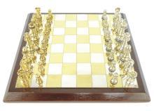 A Sterling Silver Staunton pattern chess set