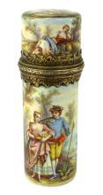 Antique 19th Century Viennese Silver scent / perfume bottle