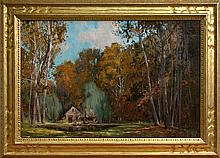 The Old Mill at Daniel Garber's by Kenn Backhaus, OPAM, AISM, PAPA, CAC