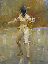 Fencer by Kenn Backhaus, OPAM & AISM, PAPA, CAC