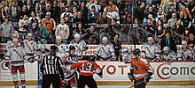 Rangers vs Flyers by Garin Baker