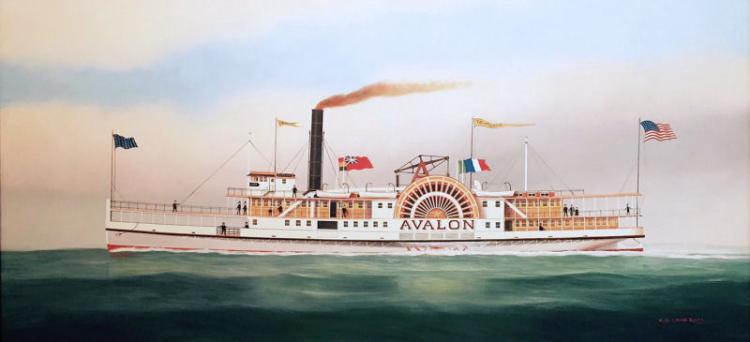 Avalon (c.1887)  by Scott Cameron