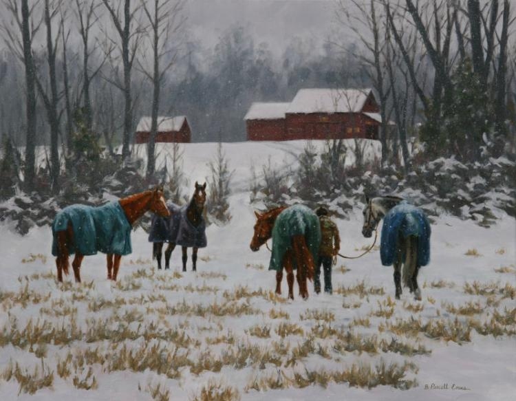 In for the Night by Beth Parcell Evans, SAA