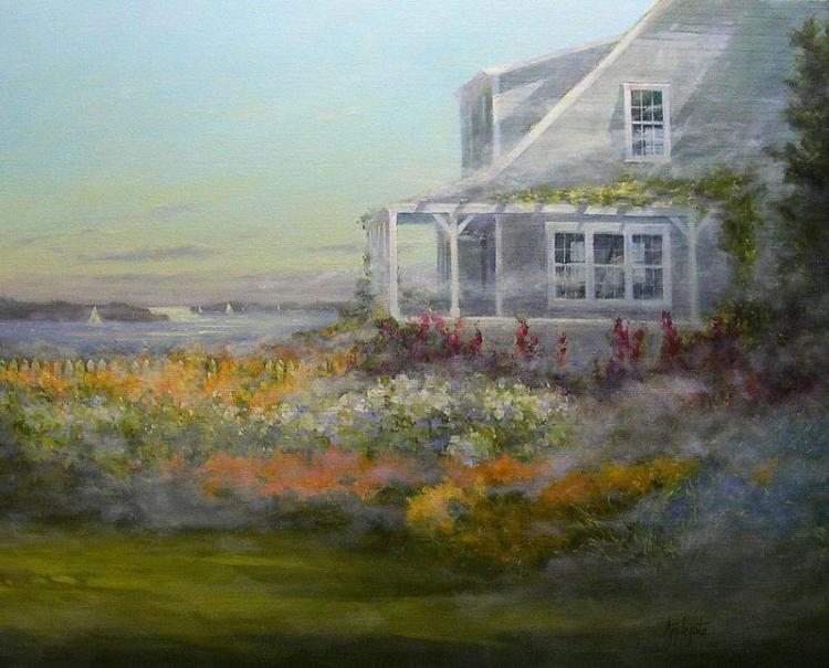 Morning Mist by Barbara Applegate