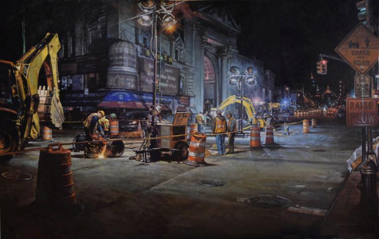 Night Shifts by Garin Baker
