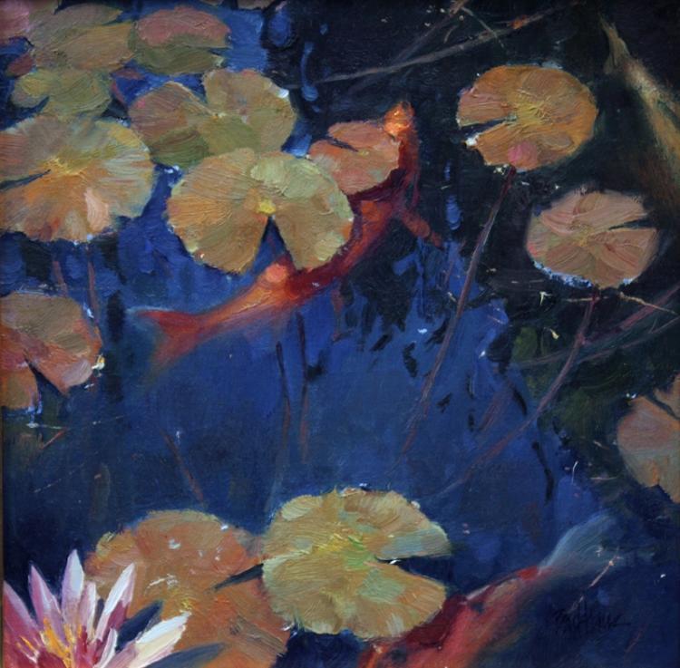 The Koi Pond by Kenn Backhaus, OPAM & AISM, CAC, PAPA