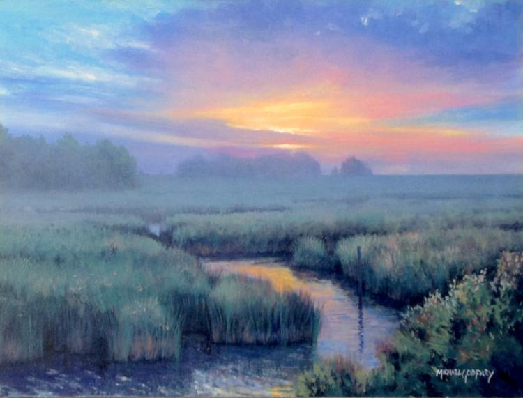 Marsh Evening by Michael Godfrey