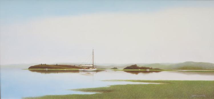Salt Pond Serenity by Scott Cameron