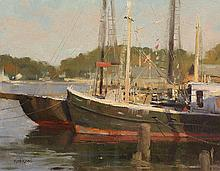 Resting in the Harbor by Kenn Backhaus, OPAM & AISM, CAC, PAPA